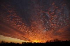 [フリー画像素材] 自然風景, 朝焼け・夕焼け, 空, 雲, 風景 - アメリカ合衆国 ID:201201122000