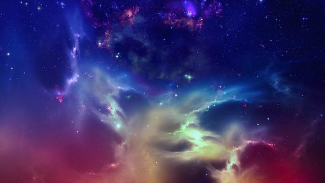 многоцветный космос