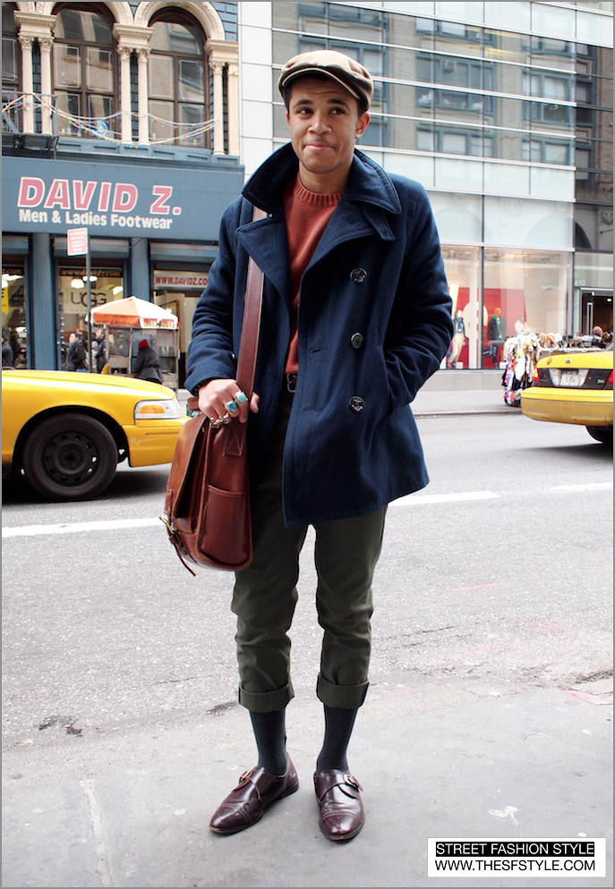 mancapris man morsel monday, newsboy, street fashion style, new york, nyc,