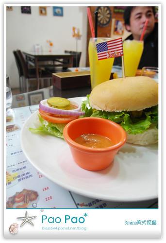 3mins美式餐廳-牛肉起士