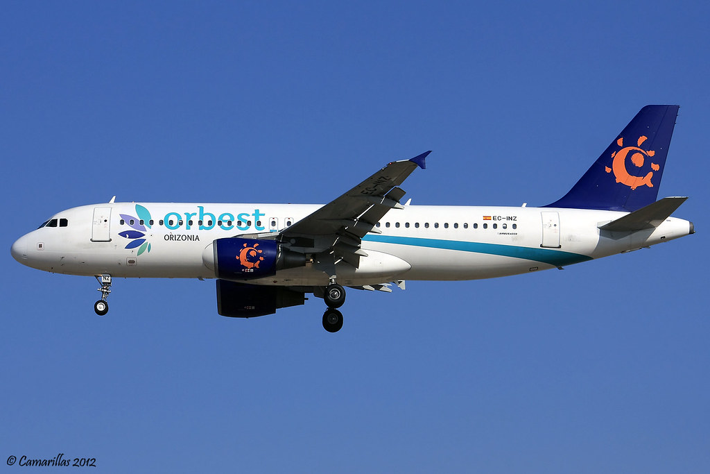 Orbest A320 EC-INZ