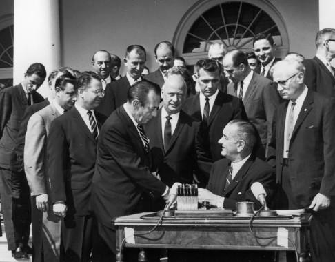 War on Poverty Legislation, 1965 06_012_2830 | Flickr ...