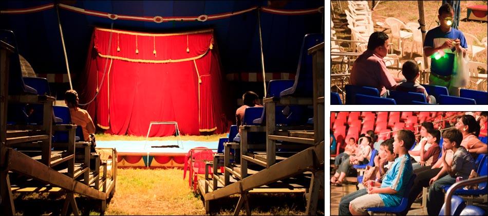 Photos: A Night at the Circus in Honduras