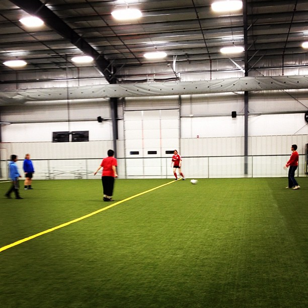 11/365+1 Soccer League Game #iamsosore