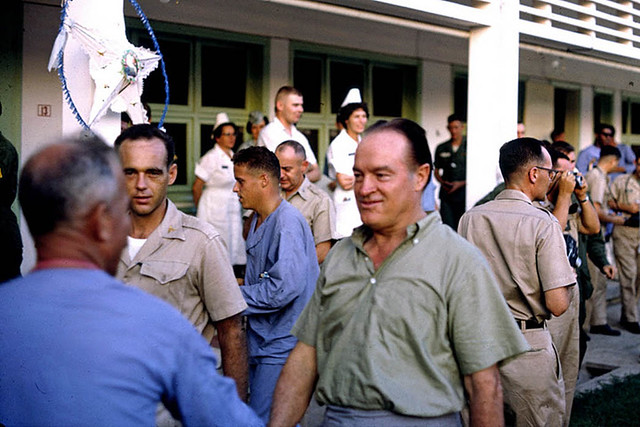 Bob Hope at 3rd Field Hospital