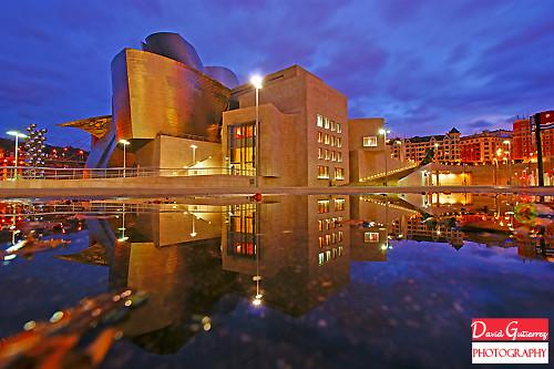 Gehry Guggenheim Reflection