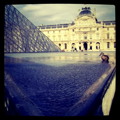 #louvre #Paris #France #duck #architecture by Erixsson