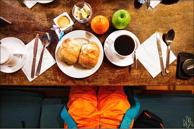 A Skier's Breakfast
