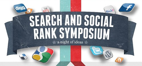 Search and social rank symposium for SEO and SMM