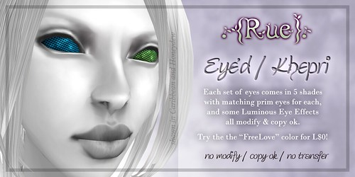 .{Rue}. Eye'd / Khepri