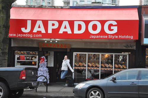 Outside Japadog