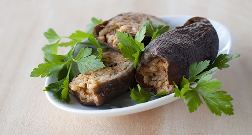 Winter Dolma: Stuffed Dried Eggplant