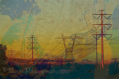 Textured Power Lines