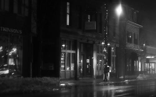 Street Lamp BW
