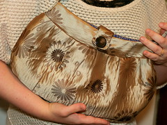 Handmade Jacquard Buttercup Bag