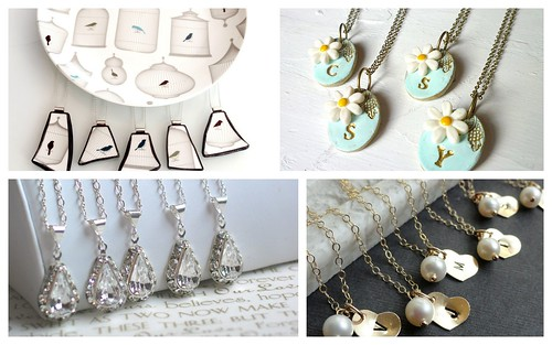 Bridesmaids Gift Guide 2012 - Part 2 by Nina Renee Designs