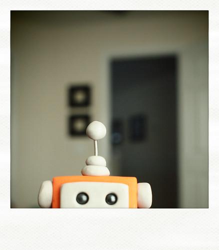 Sneak Peek | Orange you glad I'm a cute bot? by HerArtSheLoves