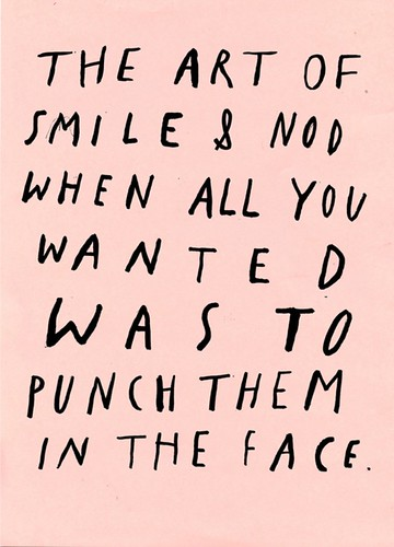 Smile and Nod Punch Out