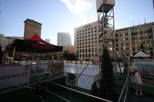 skating area in city