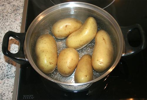 10 - Kartoffeln kochen / Boil potatoes