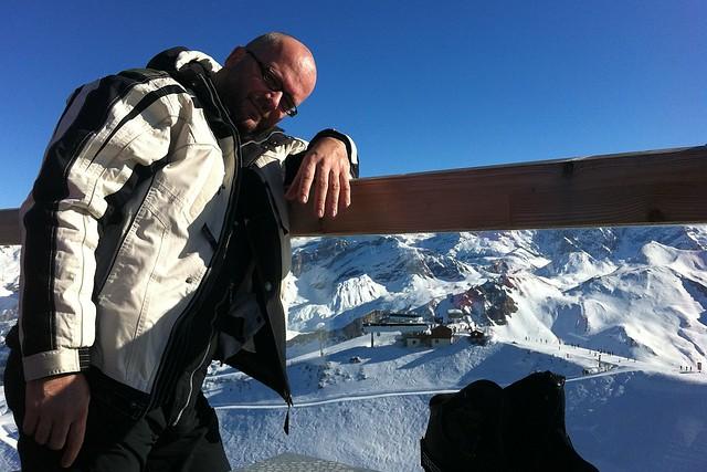 Teasing shot above Le Courchevel