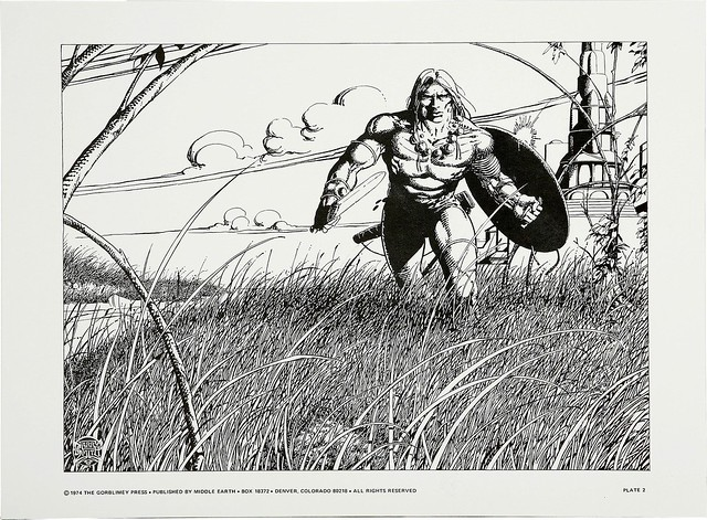 Barry Smith's Tupenny Conan Portfolio 3 1974