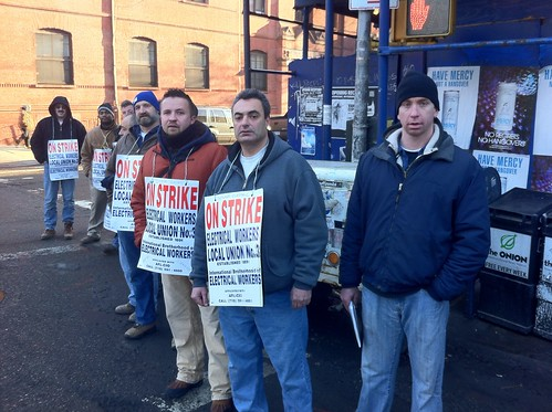 Electrical Workers on Strike