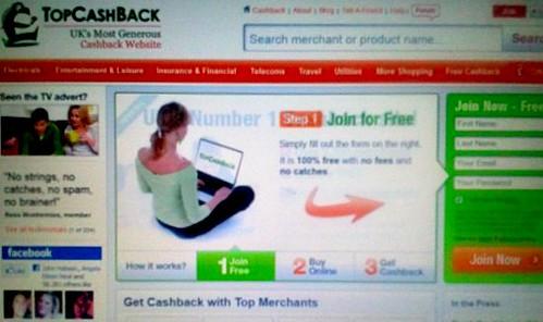 Top Cash Back site