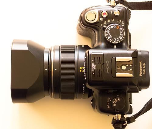 Panasonic Leica DG Summilux 25/1.4 ASPH.