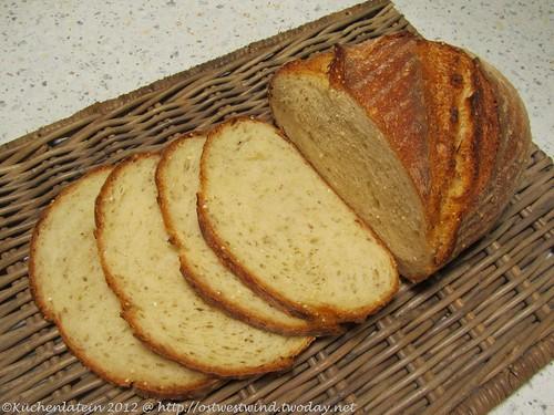 Durumweizenbrot mit Vollkornbrühstück (2)