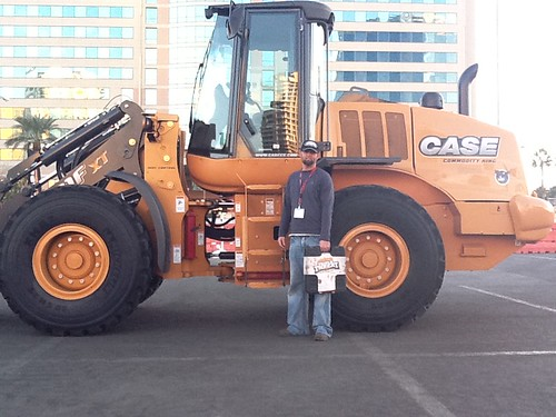 January 25, 2012 - Wheel Loader winner -Nate Holley from Salt Lake City, UT