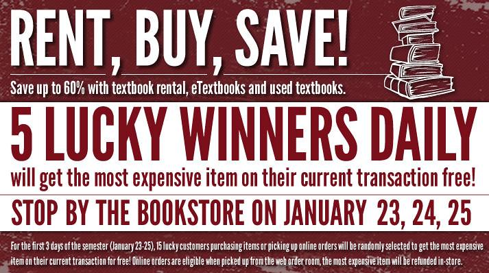 MBS Foreword Online - Kutztown University Bookstore Textbook Rush promotion