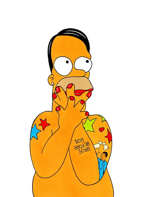 Homer Simpson Loves Marc  Jacobs