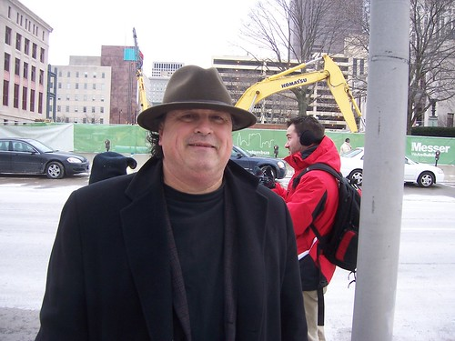 Bob Fitrakis at Occupy the Courts rally in Columbus Ohio