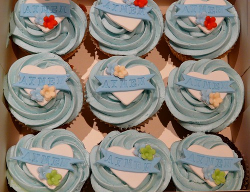 Baby Boy Shower Cupcake Favors