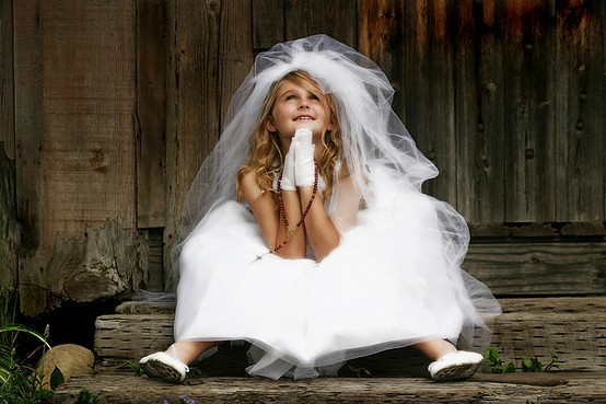 First Communion - image by Tracie Taylor