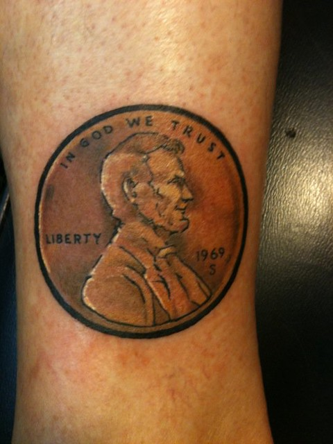 keith groves penny tattoo artistic ink flickr photo