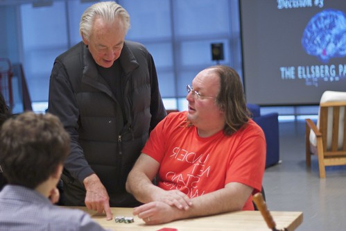 Charlie Nesson Gives Ethan Zuckerman Poker Tips