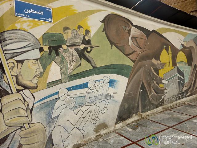 Anti-American Street Art - Tehran, Iran