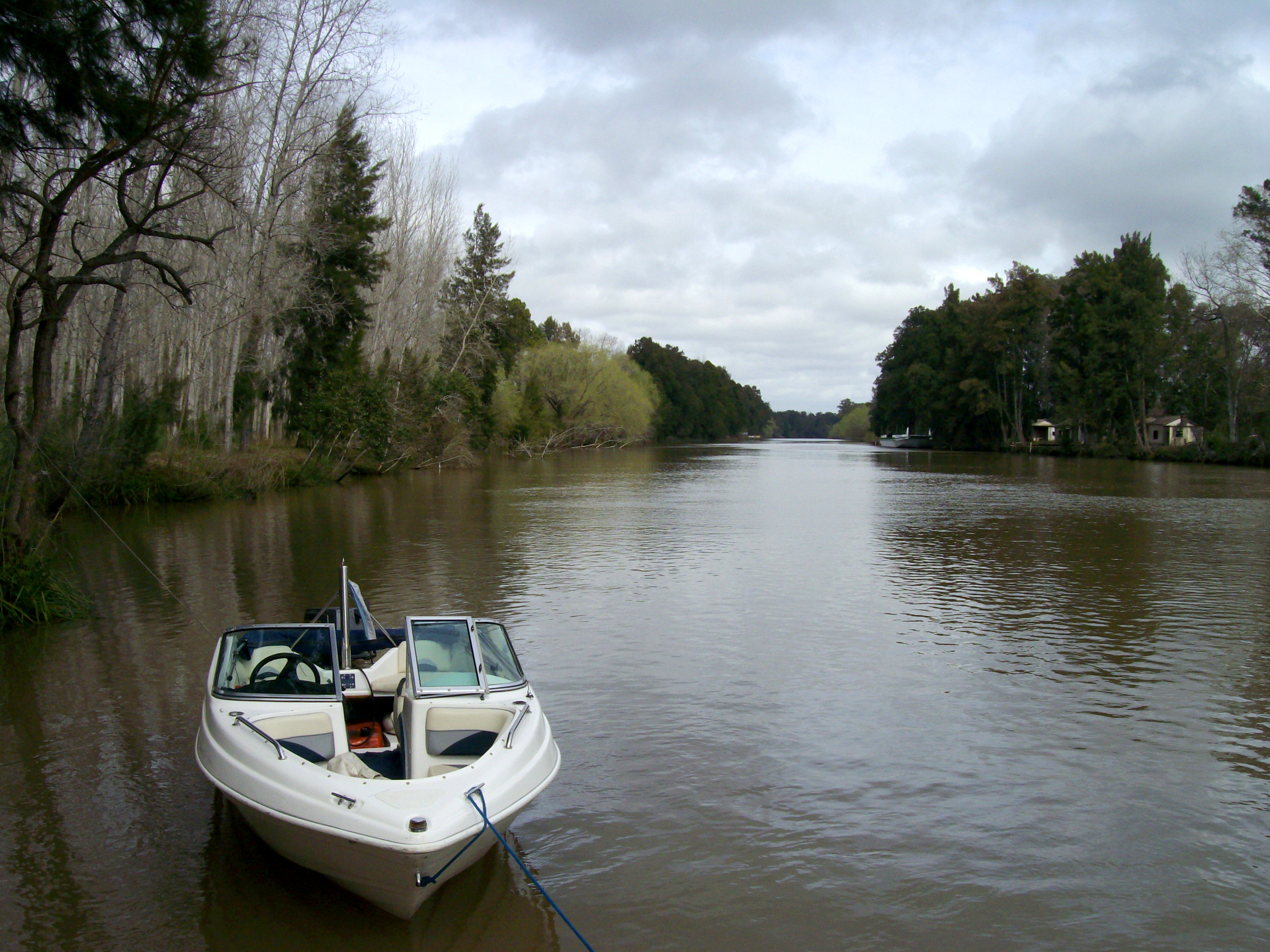 Enjoy a relaxing boat ride through the Paraná Delta