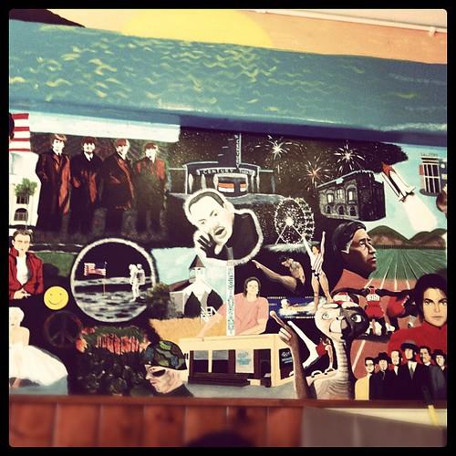 Mural at Pete's