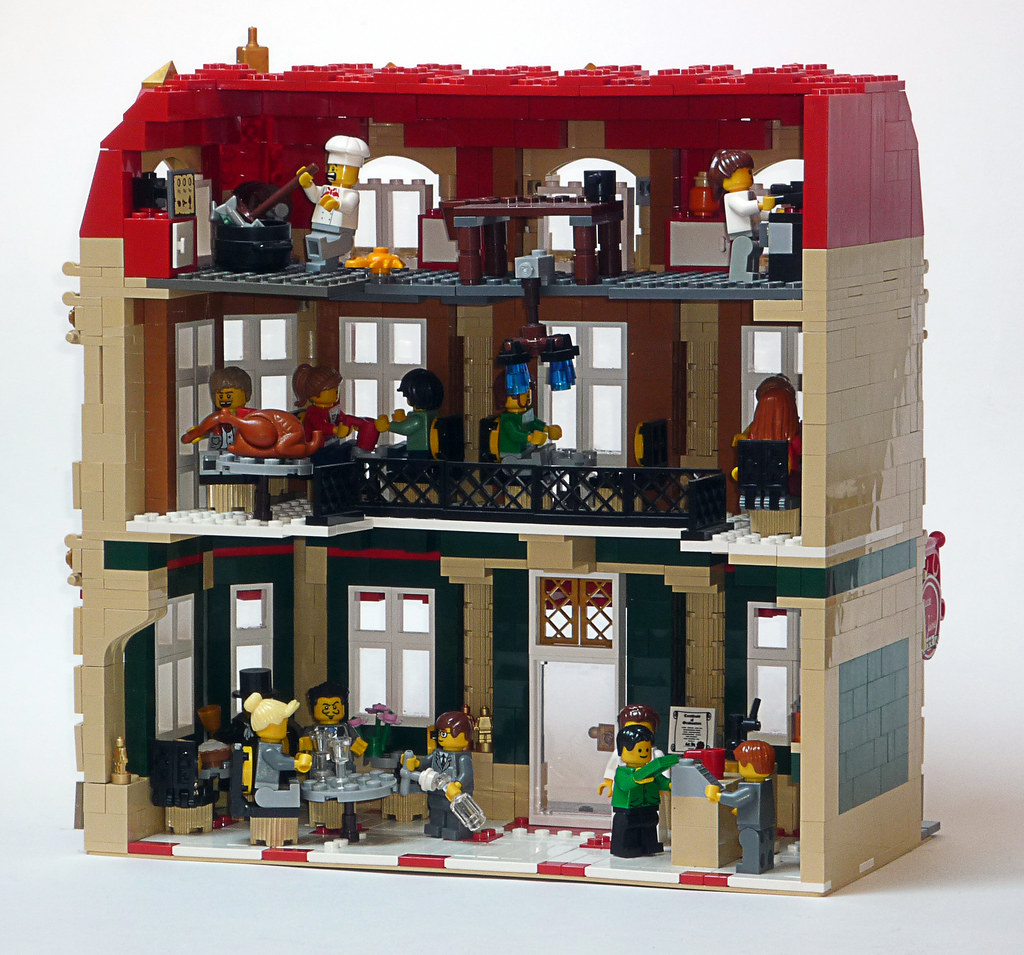 Modular LEGO building ideas
