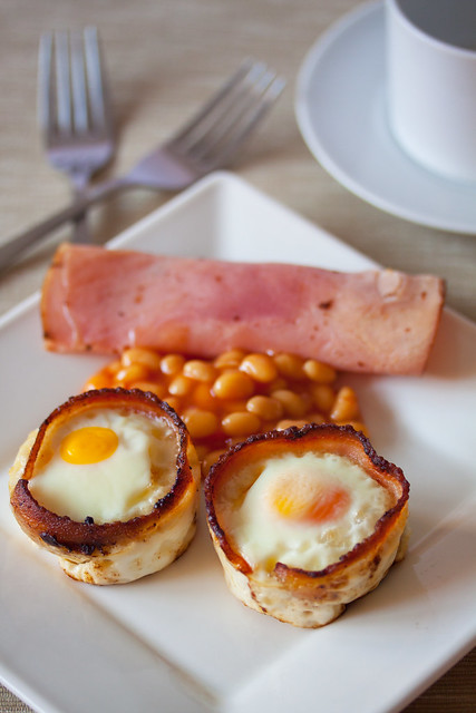 Bacon & Egg Toast Cup