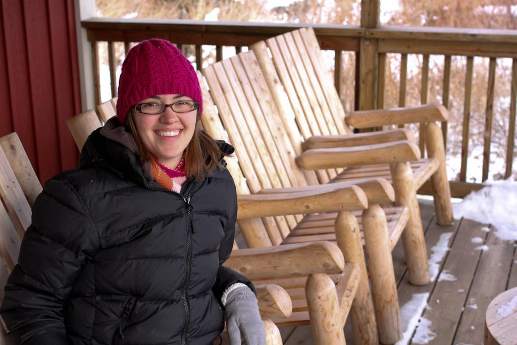 Sara at Mickey's Fish House