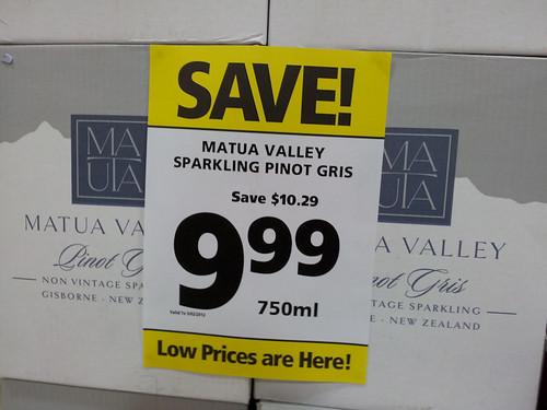 Oferta supermercado Nueva Zelanda