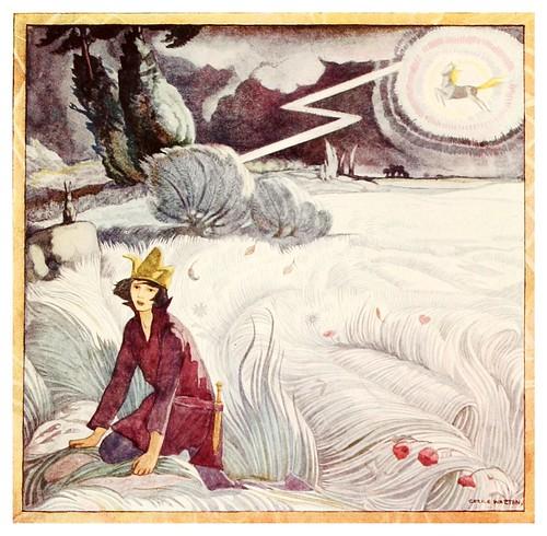 004-El caballo aparece en la tormenta-Polish fairy tales 1920-Cecile Walton