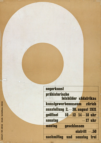 Max Bill poster from '100 Years of Swiss Graphic Design'