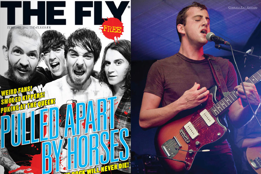 Cymbals Eat Guitars // The Fly magazine, February 2012