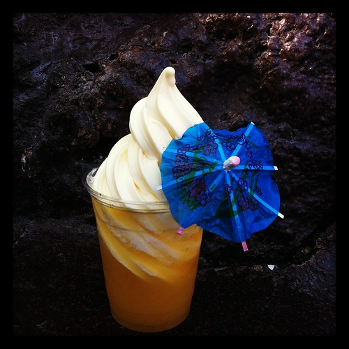 better than cake: dole whip float