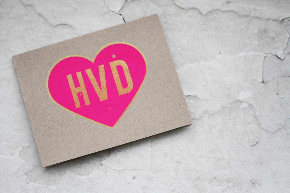 Hot Pink & Gold Valentine